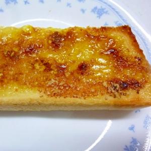 ☆カレー風味♪ マーマレードチーズトースト☆