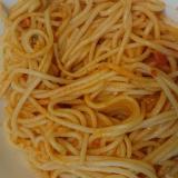 かにのみクリームスパゲティ