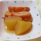 冬瓜とさつま揚げの煮物