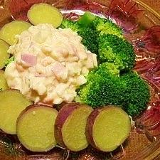 タルタルソースで温野菜