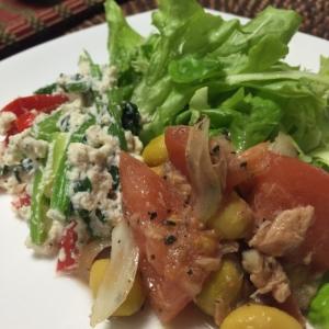 簡単☆おからの白和え風サラダ