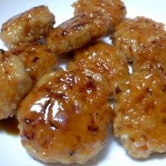 鶏ひき肉とにんじんの照り焼き
