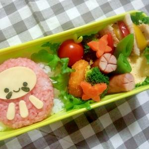 簡単キャラ弁☆だるまちゃんのお弁当♪