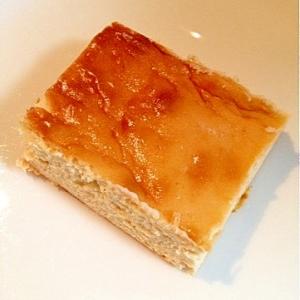 【糖質制限・バター不足対応】ラードのチーズケーキ★