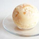 白桃アイスクリーム