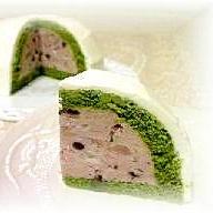 雪山ムースケーキ(ドームケーキ)