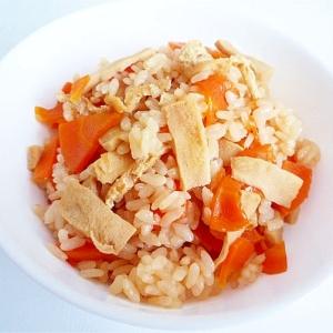 高野豆腐の炊き込みご飯