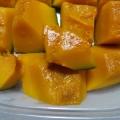 食べ切れないカボチャはレンジでチンして冷凍保存