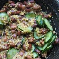豆と雑穀サラダ
