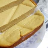 ホームベーカリーで簡単♪ヨーグルトチーズケーキ