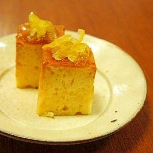 ゆずのパウンドケーキ