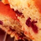ホットケーキミックスで♪簡単オレンジ香るケーキ