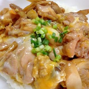 ごぼうがおいしい!柳川風親子丼