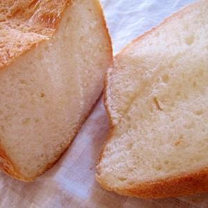 HBで。香ばしい♪おうちフランスパン