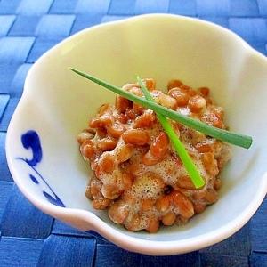 スパイシー納豆