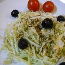 生野菜のドレッシング