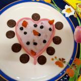 バレンタイン☆にハート♡のデザート
