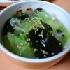 キャベツとわかめの中華スープ