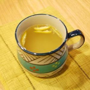 寒い夜に♪柚子生姜茶