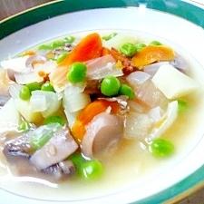 野菜ときのこのスープ