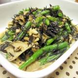 定番和食☆隠元と舞茸とヒジキの炒り煮