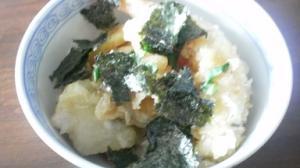 市販の天ぷらで簡単天丼