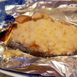 鮭と蓮根のホイル焼き