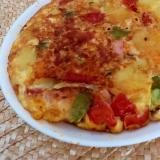 トマトのスパニッシュオムレツ