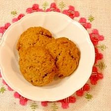 カリッと香ばしい☆ベジの黒穀粉入りクッキー
