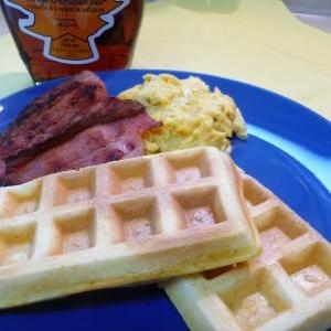 ゴシップガール好きなら毎日食べたいワッフル朝食!