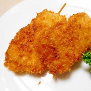 魚肉ソーセージの串揚げ