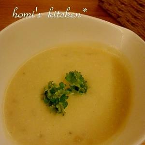 豆乳で作るじゃがいもスープ