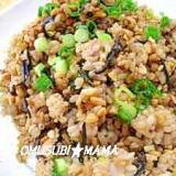 黒豆幻米で納豆チャ-ハン
