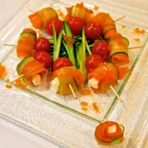 「スモークサーモン」で作る簡単前菜レシピ