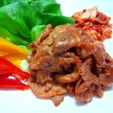 韓国スタイル♪豚肉のプルコギ