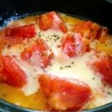 トマトが美味しく食べられるレンジDEトマトチーズ