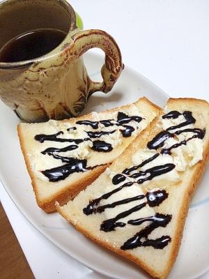 サクサクのチョコレートクリーミースムーストースト