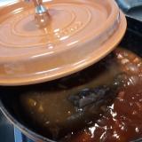 STAUBで水とルウ不使用!!牛肉の赤ワイン煮