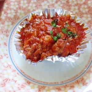 お弁当に★ミートソースの冷凍ポテトドリア★リメイク