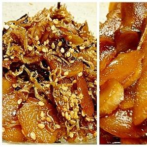 ■30分で..生姜の甘佃煮とおつまみ生姜