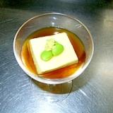 枝豆葛豆腐