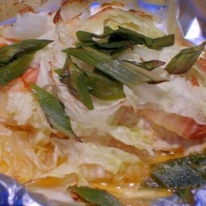 キムチの素で♪簡単!美味!鮭のホイル焼き