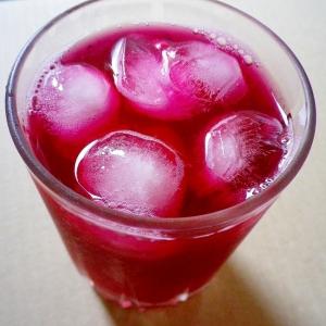 夏のドリンク☆赤しそジュース