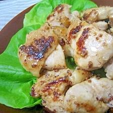 下味冷凍保存OK!鶏肉のハニーマスタード焼き