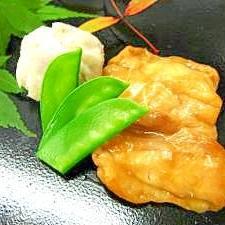 鶏の治部煮@松花堂弁当から。