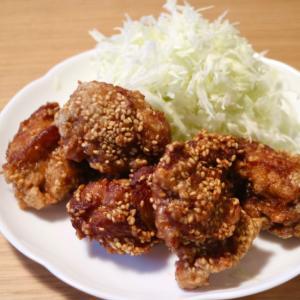 カリカリ☆鶏のジューシーごま唐揚げ
