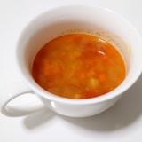 余ったミートソースで簡単スープ