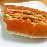 余った焼きそばをアレンジ(^^)焼きそばパン