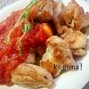 簡単!チキンのハーブ焼き~トマトソース