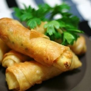 トルコ料理★葉巻風のチーズの春巻き